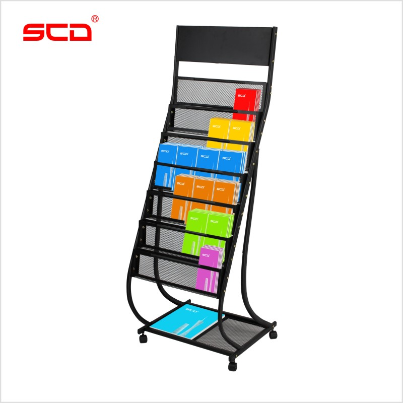 SCD Data Rack C Magazine Rack Newspaper Rack Magazine Rack Newspaper  Storage Rack Office Propaganda Rack ...
