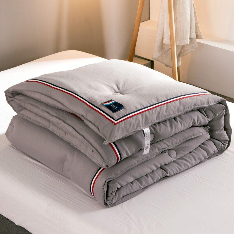 日式水洗棉被子被芯冬被棉被春秋被空调被夏凉被宿舍单双人学生被[优惠券20元淘宝包邮]