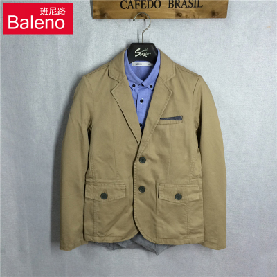 Baleno authentic new autumn men's cotton Slim business casual suit jacket suit 88507506
