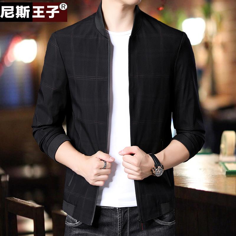 Trẻ trung và trung niên 2020 mùa xuân và mùa thu áo khoác nam mới phần mỏng Hàn Quốc áo ngọn đồng phục áo khoác xu hướng nam - Đồng phục bóng chày