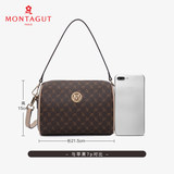 2020 Montagut new fashion casual one-shoulder messenger ladies small bag trend all-match pillow bag Boston bag