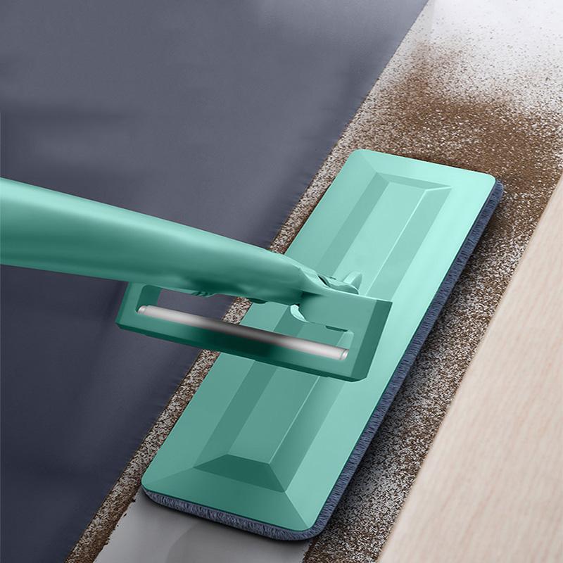 大号免手洗平板拖把家用懒人木地板干湿两用旋转吸水墩布地拖神器