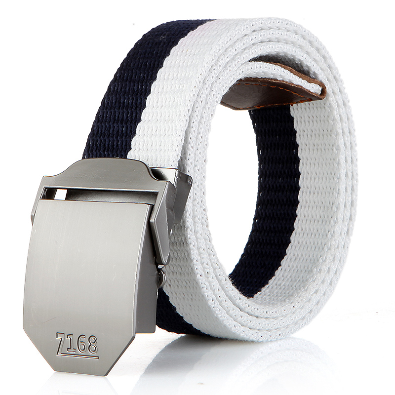 N17 168 buckle blue between white