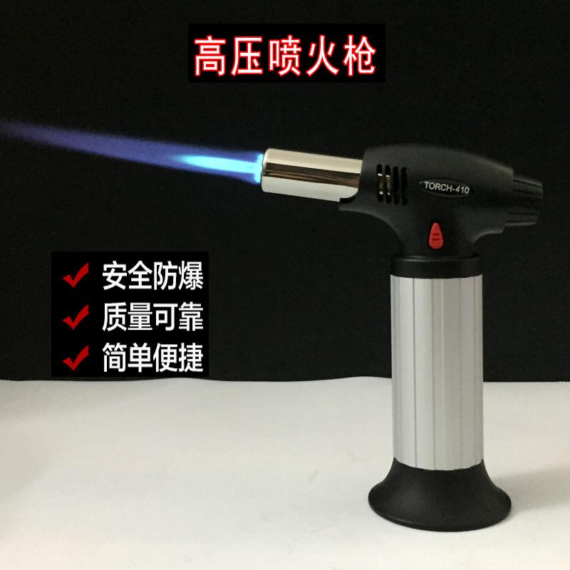 充气点火枪 点火器 高压喷火枪 打火机 可循环充气使用 Изображение 1