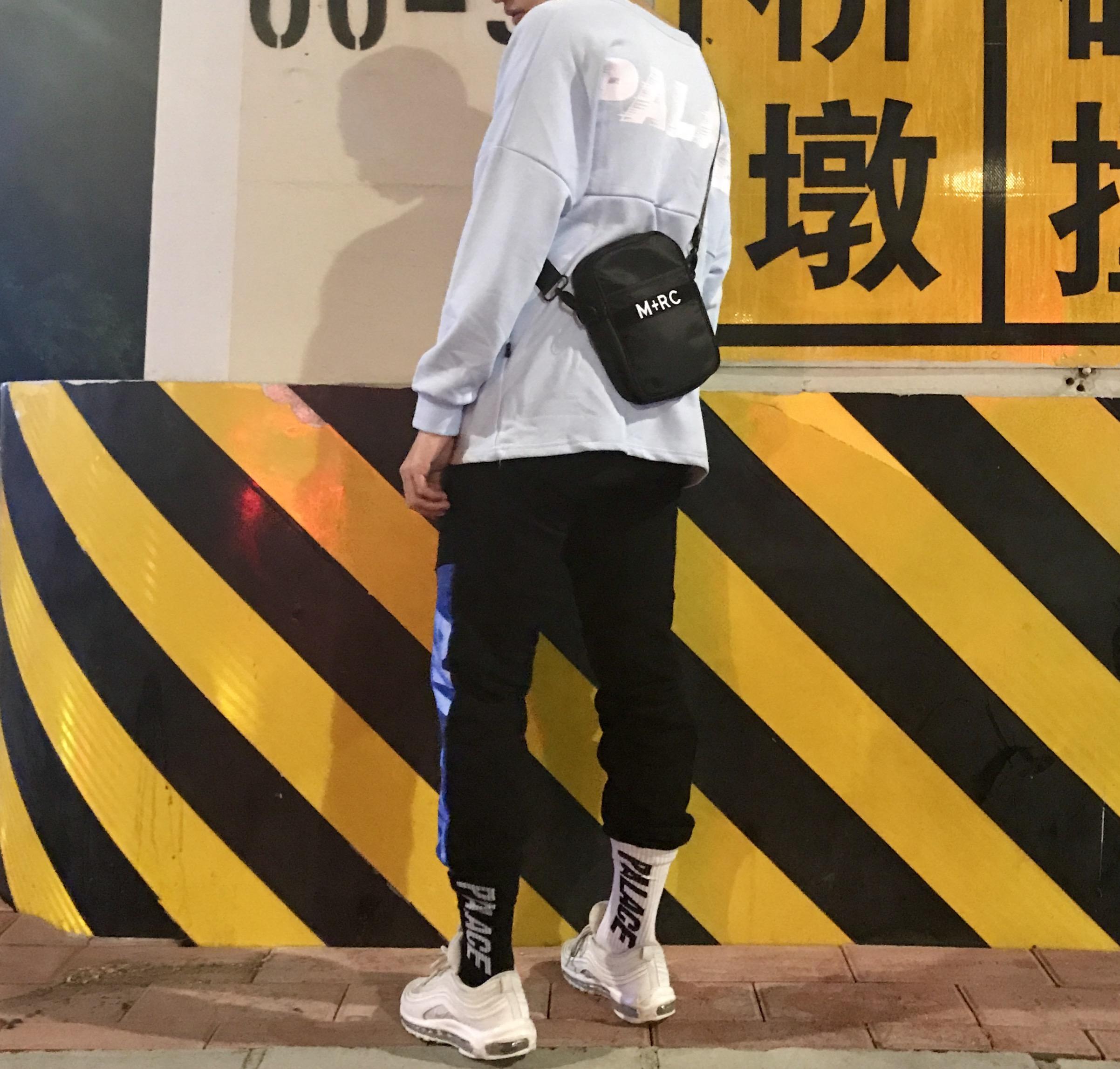 17 SS PALACE CUỘC SỐNG thể thao giản dị quần thẳng chân quần chân quần hip hop đường phố nam giới và phụ nữ