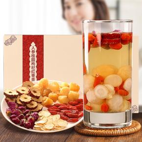 【玫瑰花+枸杞+红枣】女人八宝茶