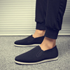 Old Beijing shoes work shoes men's middle-aged father's shoes a pedal lazy shoes spring driver casual shoes