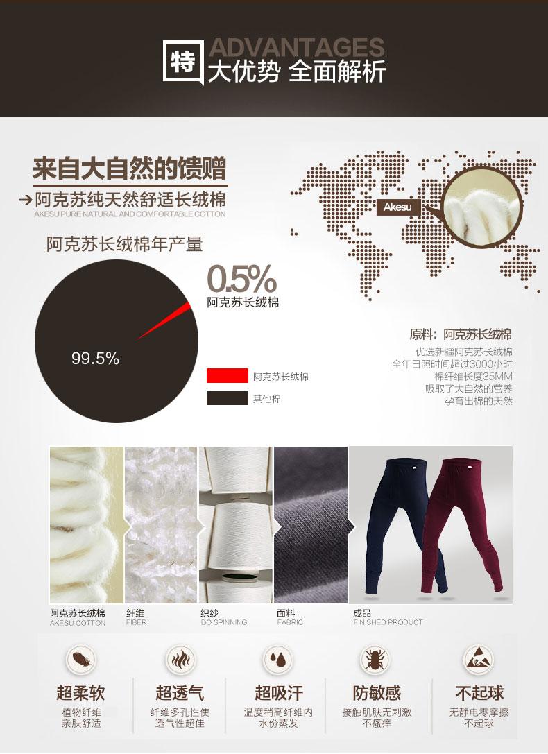 Pantalon collant jeunesse N665D10011-12 en coton - Ref 752053 Image 8