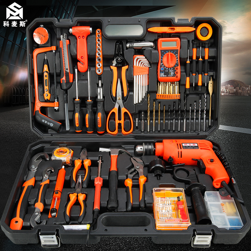Kermax household electric drill Electric Hand tool set hardware ...