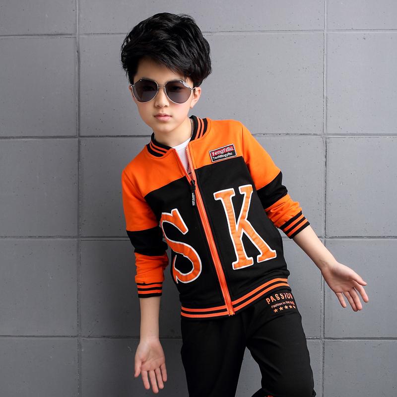 童装男童秋装套装儿童运动韩版男孩中大童