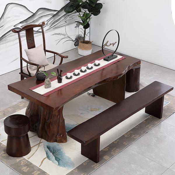 茶桌椅组合实木新中式茶桌简约现代功夫泡茶桌茶台桌子茶几喝茶桌