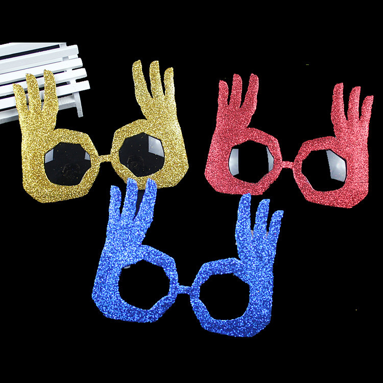 Lin Fang 35g Party Party glasses funny glasses OK finger glasses bar party funny funny glasses