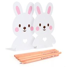 【得力】便携阅读架or书立架+5支铅笔