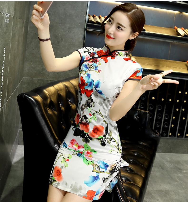 旗袍俏美人(27) - 花雕美图苑 - 花雕美图苑