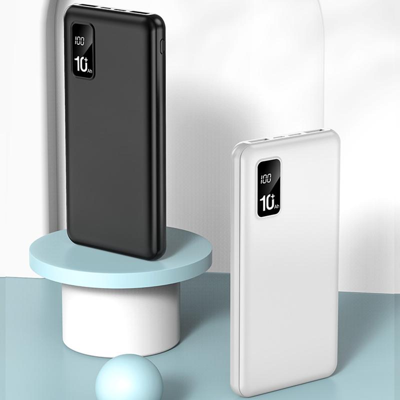 PONY手机充电宝10000毫安超薄小巧便携苹果华为快充通用定制LOGO
