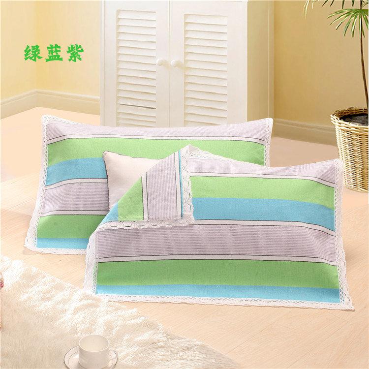Một đôi ren cũ thô vải gối khăn dày mã hóa để tăng bông duy nhất gối khăn đặc biệt cung cấp