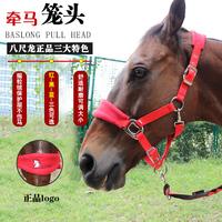 Потянув за веревку лошади замшевый Поводок для лошадей крепкий / носимый Malone set регулируемый чехол для головы лошади