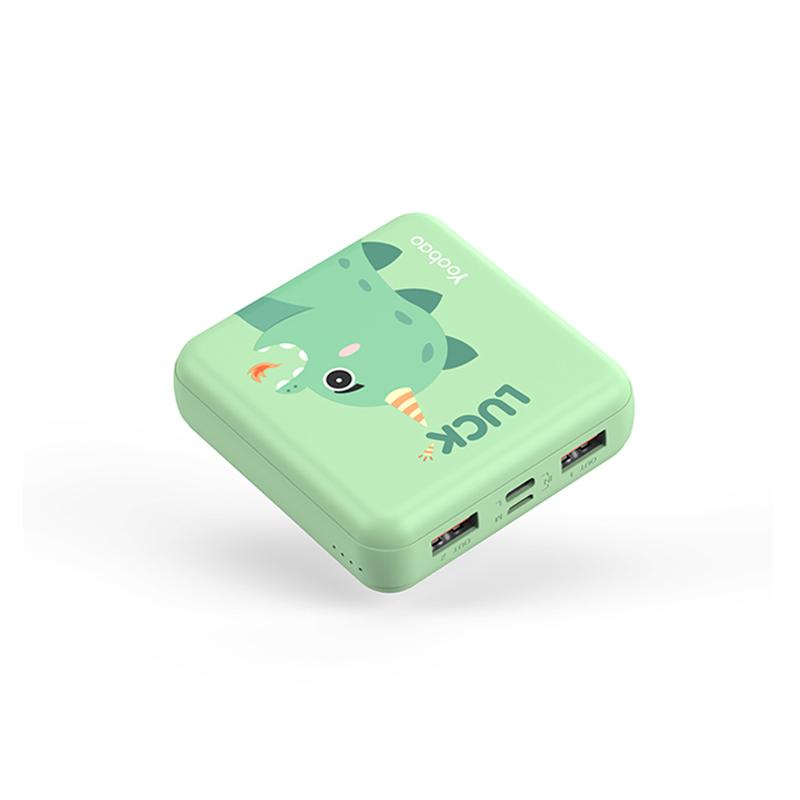 【双11预售】羽博充电宝超薄小巧便携迷你10000毫安大容量女生可爱创意小型通用移动电源适用于苹果iPhone