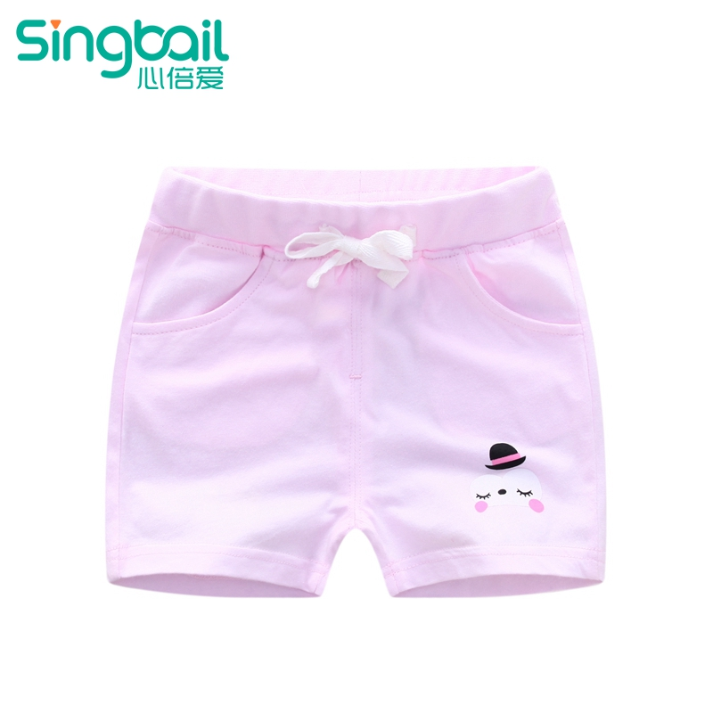 9b0b87395579 USD 52.87  Summer new children s baby knitted shorts Cotton Boys and ...