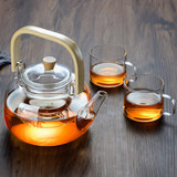 Greenball 800ml glass pot teapot office home electrochansome furnace open fire plus heat tape filtrate flower tea set