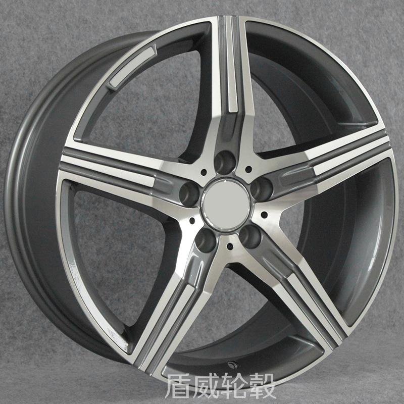 适用奔驰C200E300GLCCLSS450CLA铝合金改装轮毂17181920寸