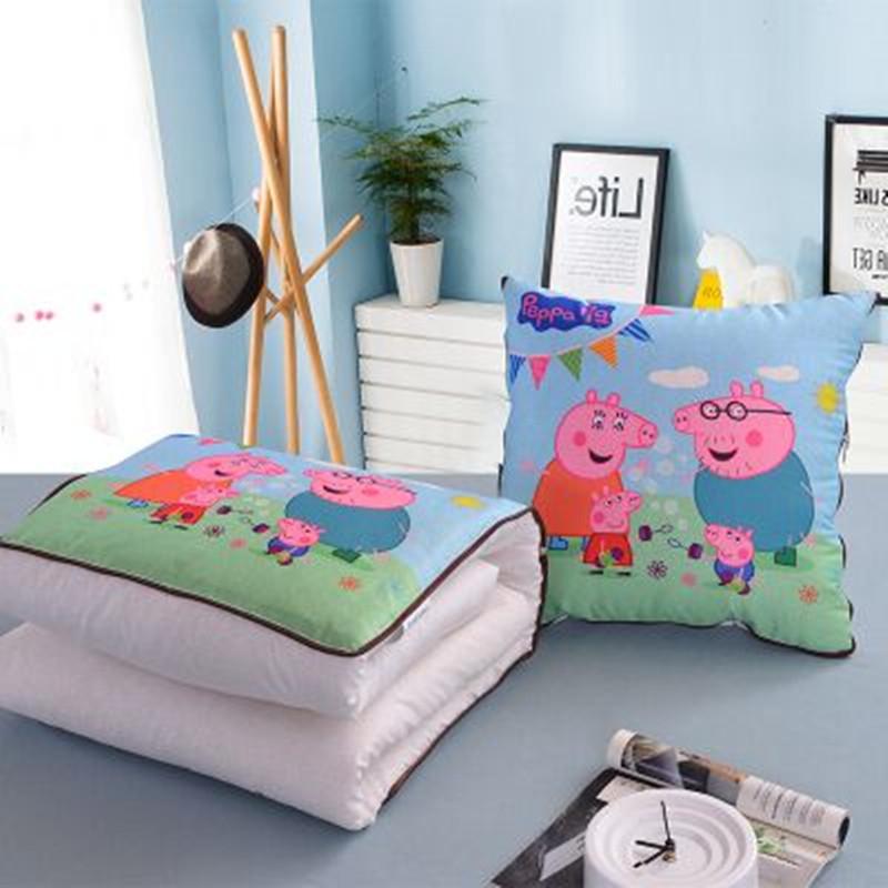 抱枕被子办公室午睡枕汽车靠垫