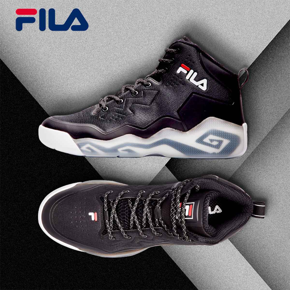 USD 231.79] FILA Fila male BB shoes 2018 autumn new street