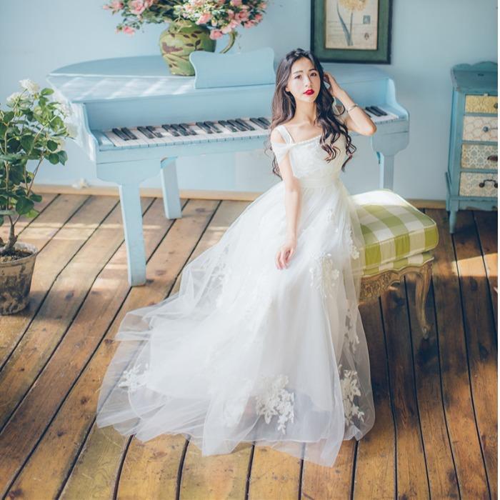 公主裙大人蓬蓬吊带纱裙甜美超仙小礼服女仙气梦幻平时可穿伴娘服