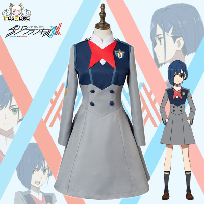 taobao agent 【Spot】Man Chuang DARLING in the FRANXX Berry cos uniform cosplay costume female