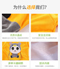 Baby gowns waterproof boy children autumn and winter girls anti-dress bib dinner clothes crystal velvet baby apron