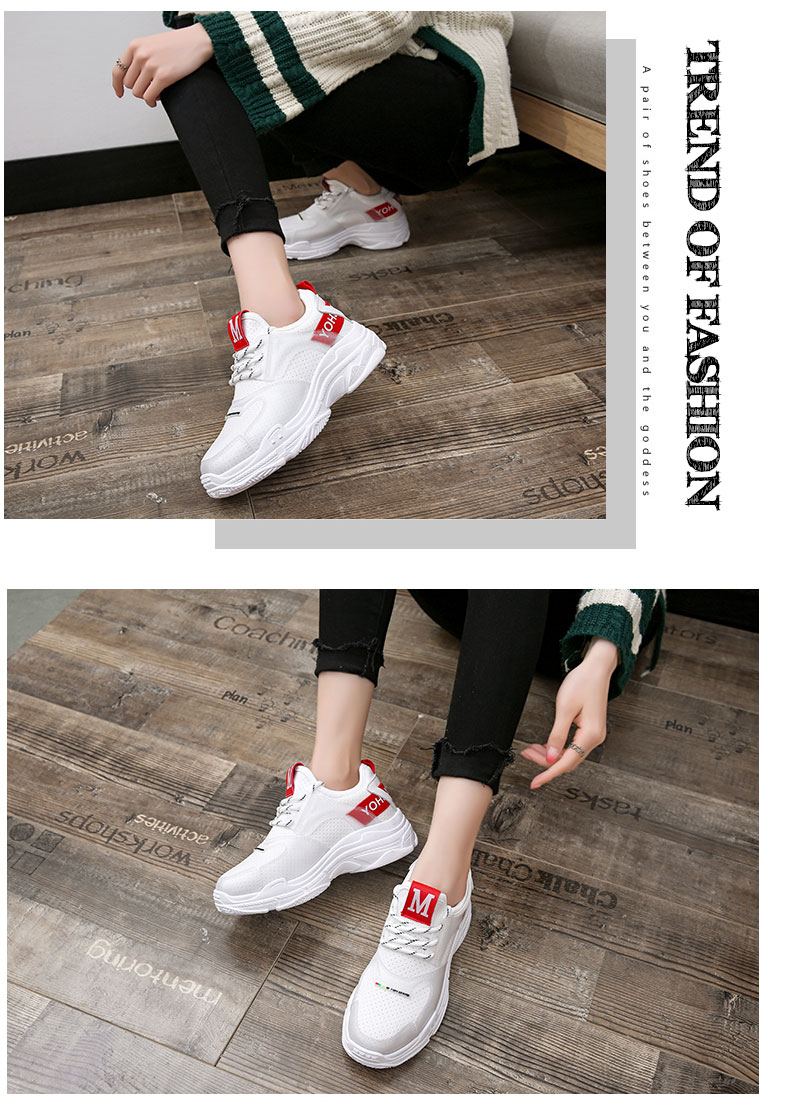 2018 summer new casual shoes female students fashion wild Harajuku ulzzang flat shoes women breathable 62