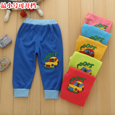 Children's clothing wholesale factory direct 2017 autumn new baby casual pants children pants car trousers
