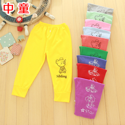 Children's clothing wholesale factory direct child 2017 autumn new boys and girls cotton pants children's thin trousers