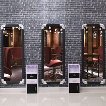Mirror table hair salon mirror hair mirror table barber shop mirror Hair Mirror Barber Mirror