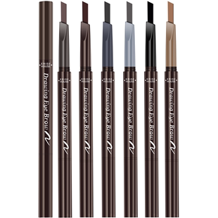 Etude durable and non decolorizing double head anti sweat eyebrow pencil