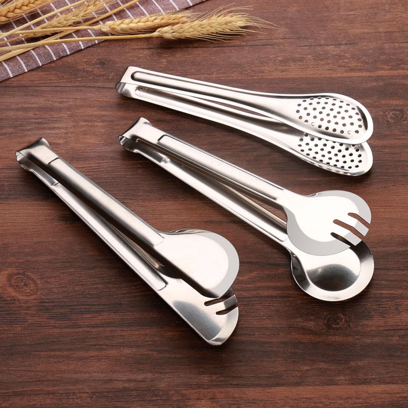 夹子厨房不锈钢食品水果面包菜烧烤烤肉手抓饼煎牛排专用麻辣烫夹