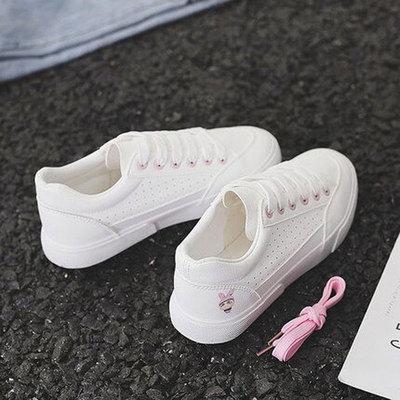 春季新款chic女百搭小白鞋