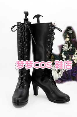 taobao agent No. 3598 Black Butler, Master Charles, COS shoes, COSPLAY shoes to order