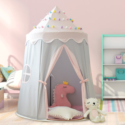 Children's tent play house indoor household girl boy baby princess castle small house toy house yurt