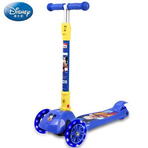 麦斯卡迪士尼儿童滑板车三轮3-6岁宝宝踏板车男女小孩玩具滑滑车