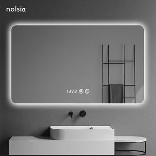 Led ванная комната зеркало настенный противотуманные ванная комната зеркало свет ванная комната умный зеркало сенсорный экран музыка мойте руки между зеркало, цена 3846 руб