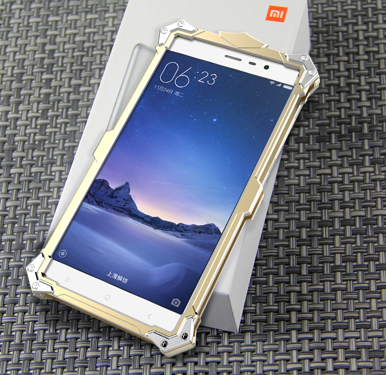 new products d0366 f1308 Xiaomi Redmi Note 2 3 Aluminium Thor Metal Case Cover Casing + Gifts