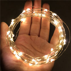LED decorative lights, copper wire, star lights, colored lights, waterproof flashing lights, stars, room layout, bobo ball, small bulbs