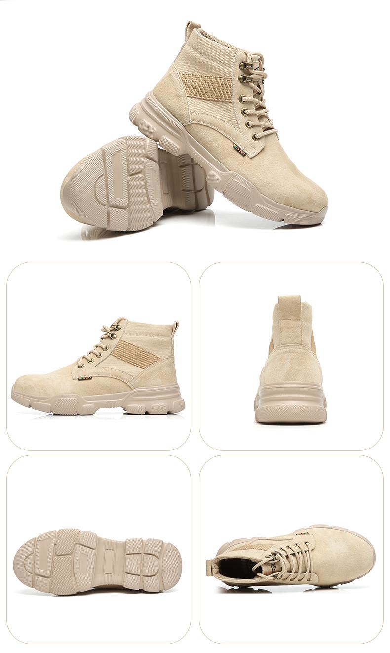 giày bảo hiểm lao động nam cao-top giày công tác chống đập chống xuyên đặc biệt vào mùa hè mùi thợ hàn di động trang web