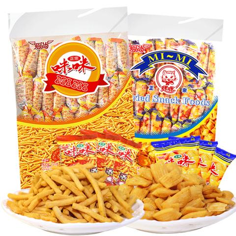 咪咪虾条20包+浏乡炒米蚕豆30包-淘宝优惠券