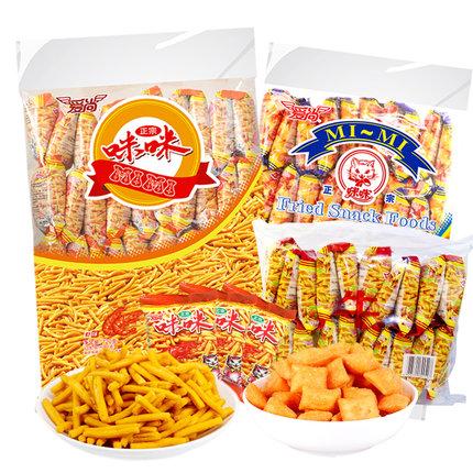 爱尚 咪咪虾条/蟹味粒20包 8.9元包邮(第二件半价)