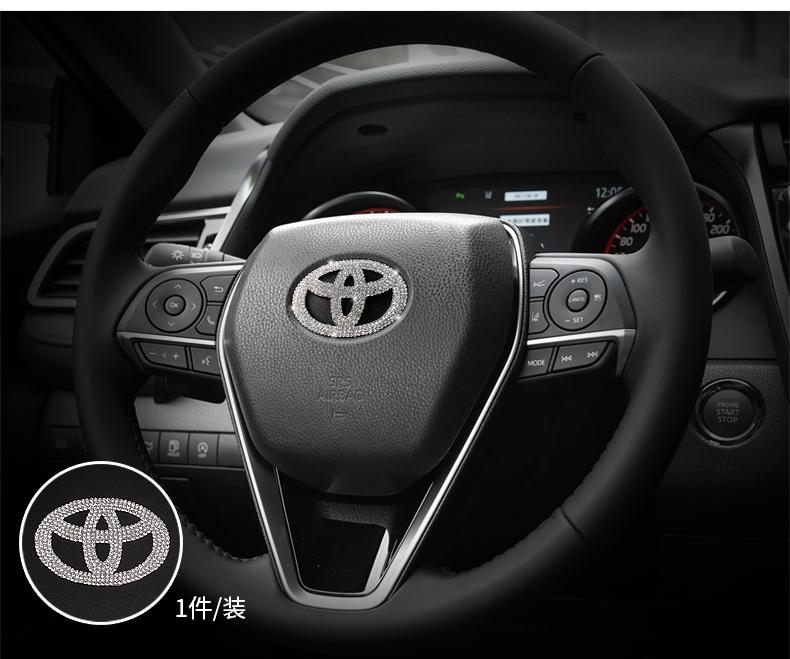 Bộ ốp đính đá trang trí nội thất Toyota Camry 2019 - 2020 - ảnh 17