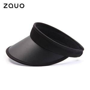 韩国zauo防晒帽女夏季遮阳帽骑车户外防紫外线空顶太阳帽沙滩帽子
