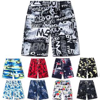 Мужской пляж брюки ребенок вне надеть свободный 2020 год лето случайный прилив бренд Большой брюки трусики пятый в цветы шорты