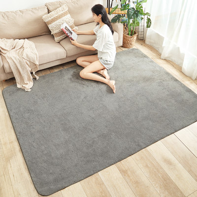Nordic carpet bedroom full room can sleep and sit household carpet living room tatami coffee table blanket bedside blanket